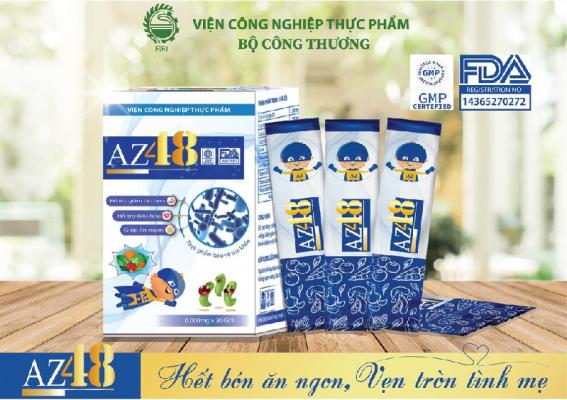 AZ48 - Điều trị dứt điểm tình trạng táo bón